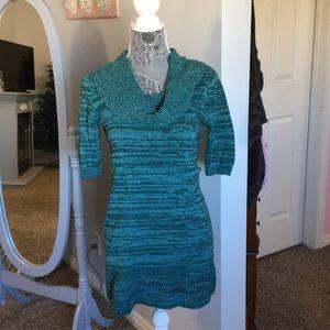 Dresses & Skirts - Green sweater dresses